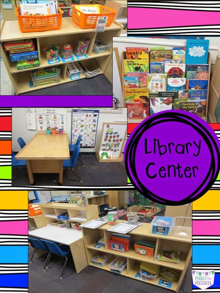 My Classroom Library Center from Pocket of Preschool