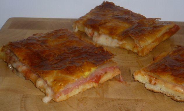 pizza parigina con lievito madre