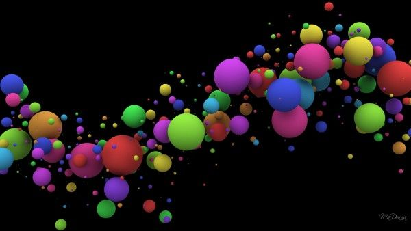 Floating spheres - Wallpaper for widescreen, high Definition, Abstract, Animal, Anime, Apple, Artistic, Beach, Cars, Cartoon, Celebrities, Computer, Fantasy, Flower, Funny, Game, Girl, Holiday, Movie, Music, Nature, Photography, Space, Vector, Worl