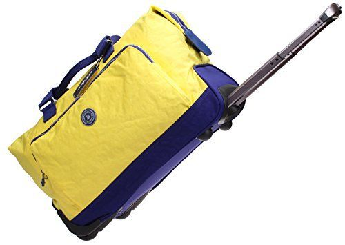 New Trending Briefcases  Laptop Bags: Iblue Wheeled Duffel Bags Rolling Garment Bag Nylon Travel Bag 19 Inch #Bl8002-19 (yellow). Iblue Wheeled Duffel Bags Rolling Garment Bag Nylon Travel Bag 19 Inch #Bl8002-19 (yellow)   Special Offer: $45.99      166 Reviews SPECIFICATION Iblue Brand Is A Trade Mark Registered In The US And Professional To Make Quality Bags For Many Years. IBLUE ROLLING GARMENT BAG #BL8002-19:...