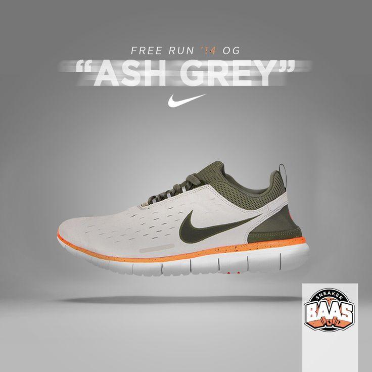 "Nike Free Run '14 OG ""Ash Grey""   Wow! Nuff said!   http://www.sneakerbaas.nl/free-og-14-light-ash-grey.html   #NIKE #FREE #BAASBOVENBAAS #FREE   642402-002"