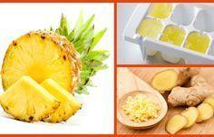 Mulheres depois dos 40: Cubos de abacaxi com gengibre para perder até 4 kg por semana