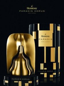 Paradis Horus by Hennessy - luxury cognac packaging design. Occasionally I drink cognac and I would buy this just for the bottle.