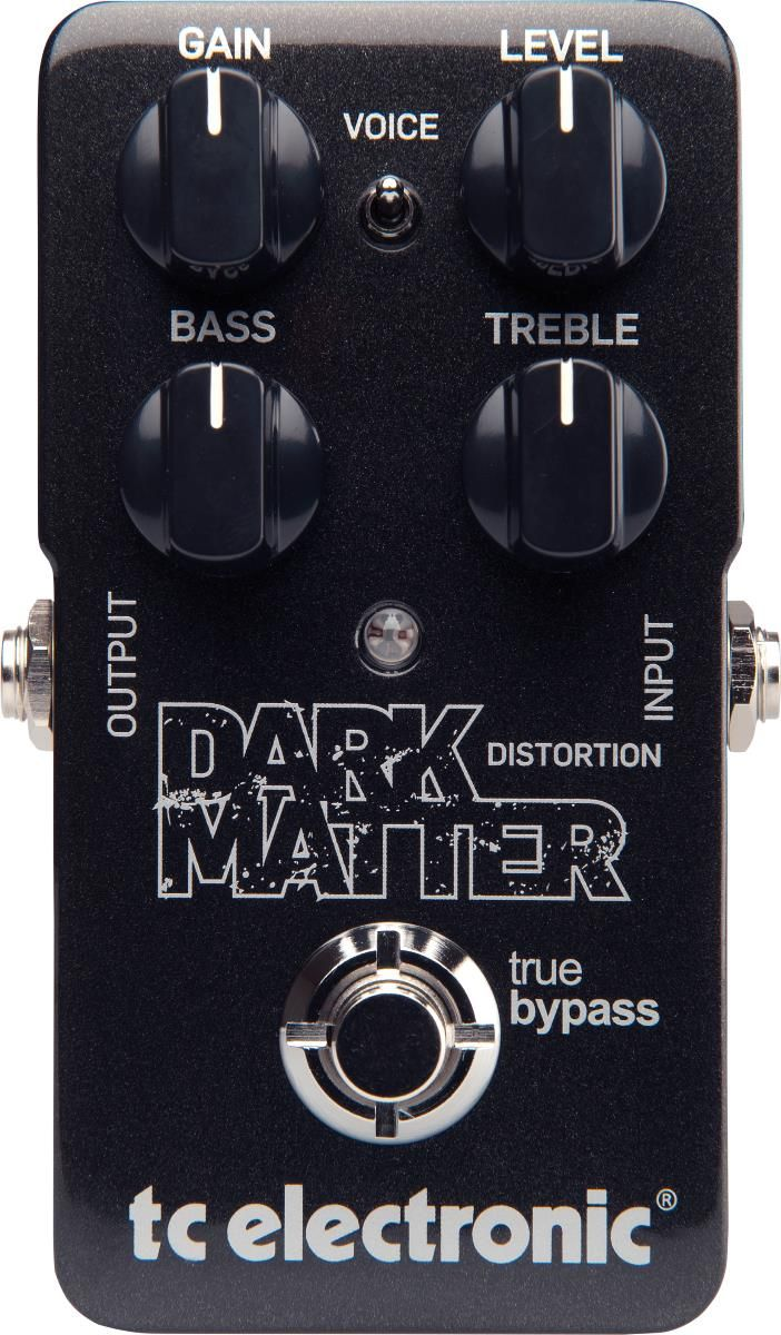 TC Electronic Dark Matter Distortion. While the name does imply metal tones, this pedal can do much more than just that. It is designed to cover everything from smooth to high gain, and comes with enough tone shaping to make even those with picky tastes satisfied. It was chosen by GuitarSite.com as one of the top distortion pedals in 2016. For a detailed guide to Distortion Pedals see http://www.guitarsite.com/best-distortion-pedal/