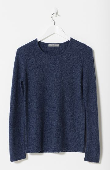 Mélange Block Women's Sweater   Elk