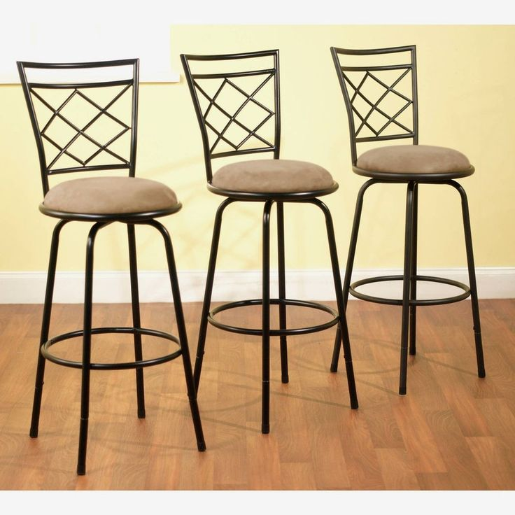 3 Bar Stools High Seat Chairs Adjustable Swivel Counter: Best 25+ Bar Stool Height Ideas On Pinterest
