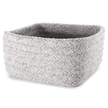 Superior Wool Blend Square Storage Basket, Small