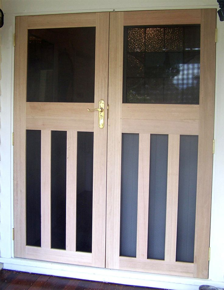 17 best images about fly screen door designs on pinterest for Security screen doors for french doors