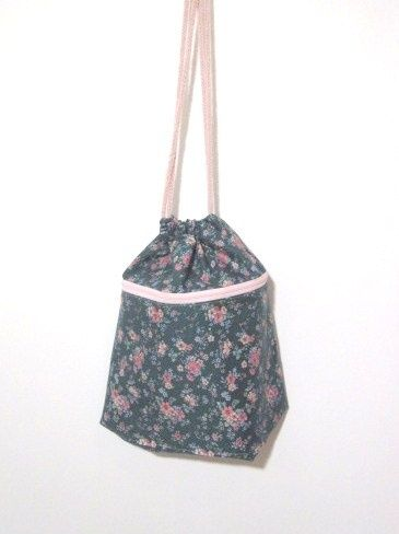 Strikketøypose m/lomme til strikkeglade damer og menn.