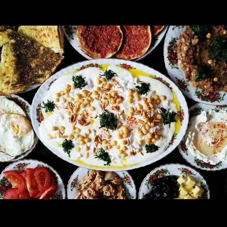 Arab breakfast