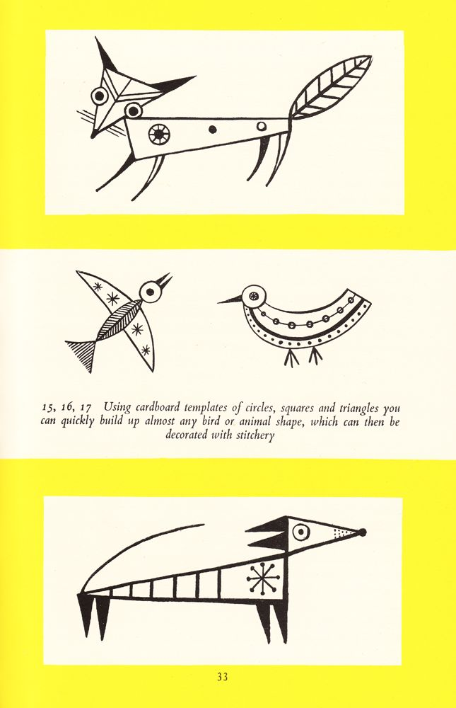 Vintage Scans: Folk-Modern Embroidery
