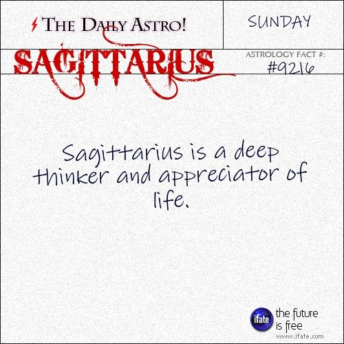 Sagittarius Daily Astro!: You can get a great free tarot reading online right now.  Visit iFate.com today!