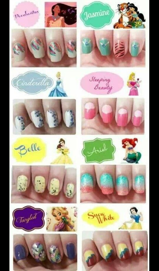 #princess #nails