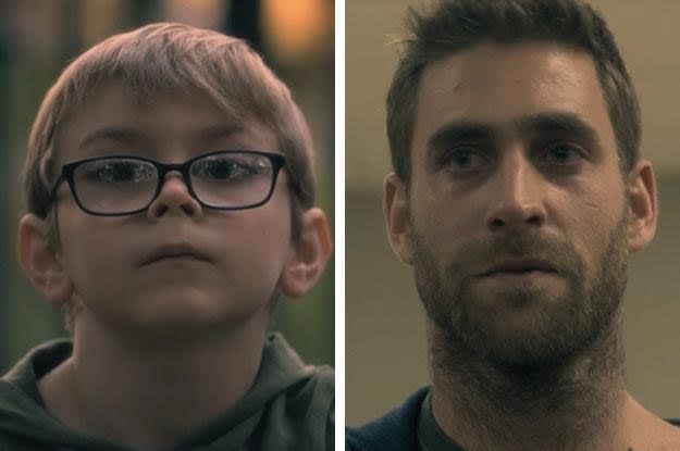 The Side By Side Photos Of The Haunting Of Hill House Kids And Adults Will Make You Say That S Eerily Good House On A Hill Oliver Jackson Cohen House On Haunted