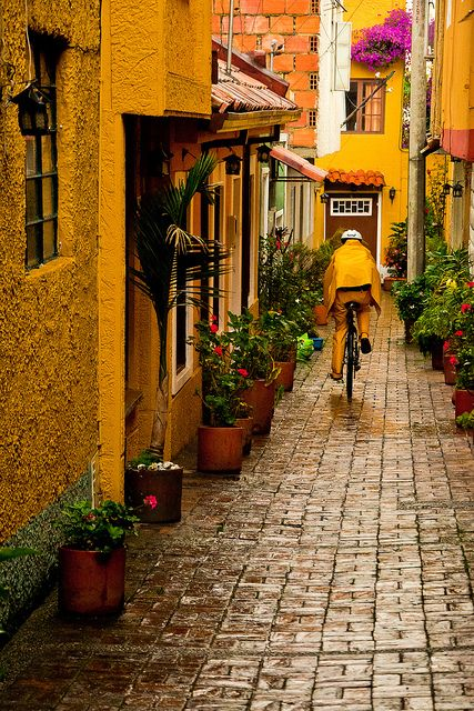 Bogota, Colombia....I'd definitely be safe from those we don't speak of here!