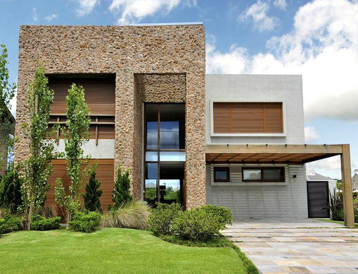 17 melhores ideias sobre arquitetura moderna no pinterest for Casas unifamiliares modernas