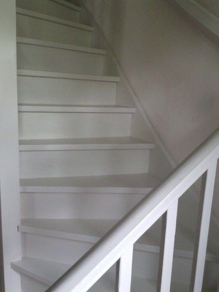 1000 idee n over verf trap op pinterest geschilderde trap trappen schilderen en geschilderde - Lichtgrijze gang ...