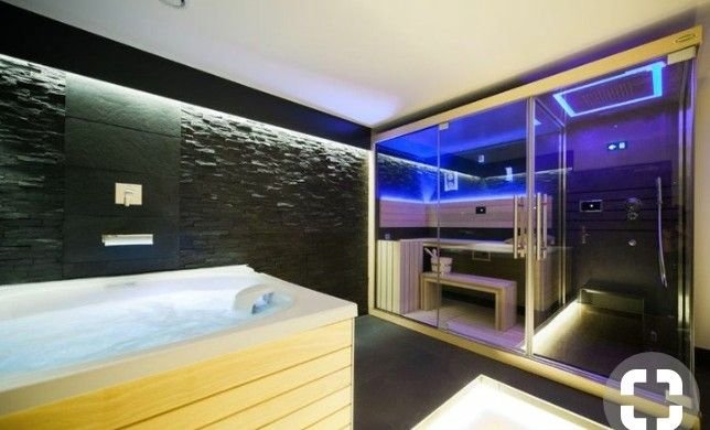 Pin By Rico Brown On Lotus Lounge With Images Home Spa Room Jacuzzi Room Spa Rooms