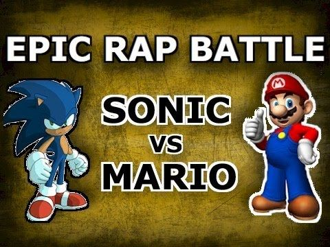 BrySi the Machinima Guy - Mario vs Sonic - Epic Rap Battle