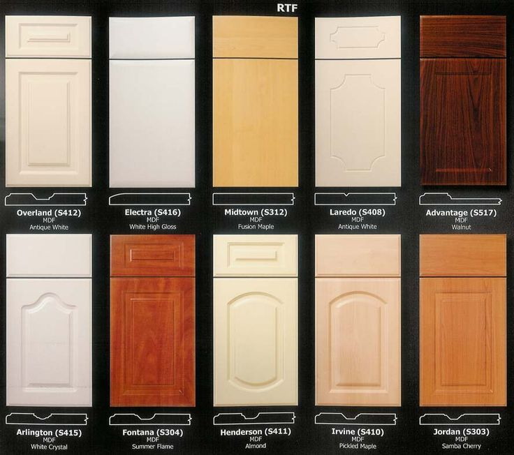 Luxury Custom Made Cabinet Doors and Drawer Fronts