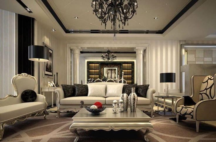 Modern Interior Design In Neoclassical Style