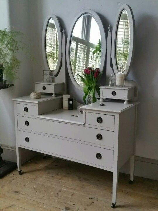 Dressing Table Antique Edwardian Dressing Table Drawers