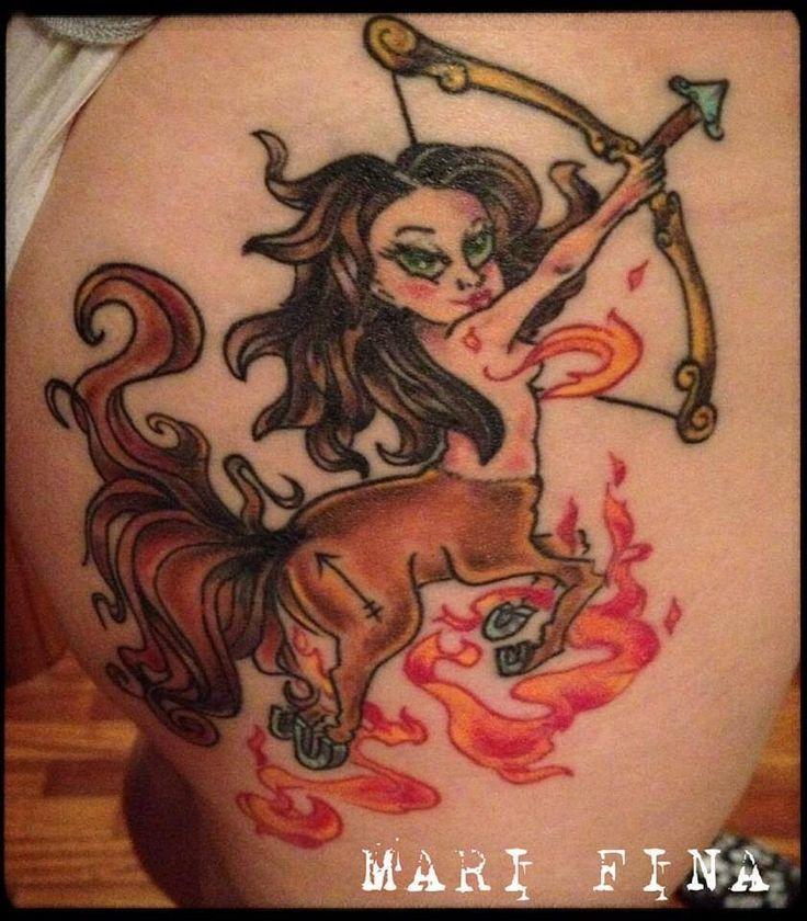 Sagittaria Tattoo artist: Mari Fina  Categoria: cartoon http://www.subliminaltattoo.it/prodotto.aspx?pid=01-TATTOO&cid=18  #marifina #sagittariatattoo #colortattoo #cartoontattoo #marifinatattooartist #subliminaltattoofamily #zodiactattoo #sagittariumtattoo #tattooartists   #tattoos  #tatuaggi
