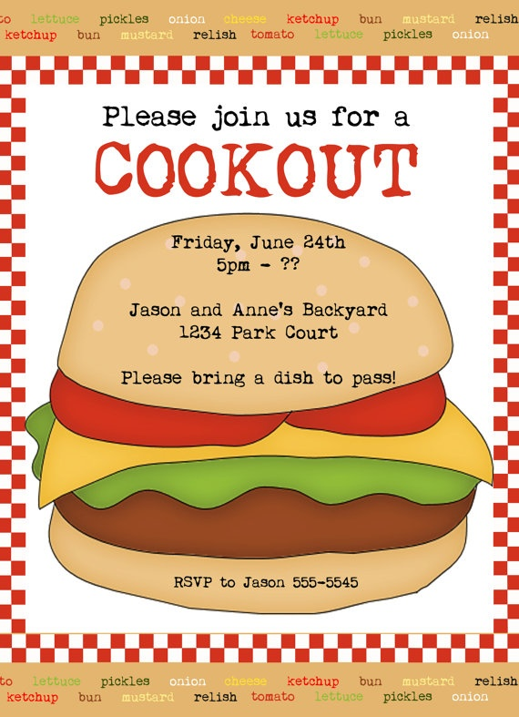 cookout invitation 9 00 daydreaming in digital invites