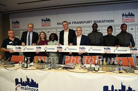 RunnersWeb Athletics:  Frankfurt Marathon plans to turn up the heat Sunday
