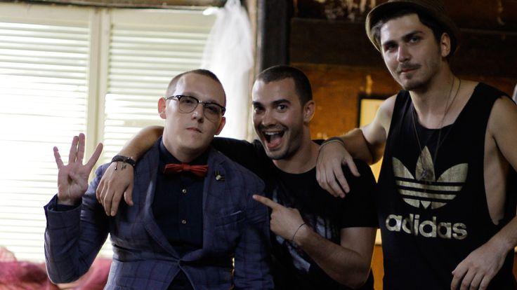 Behind the scene - Codrin Roibu / Narcotic Sound and Iulian Moga