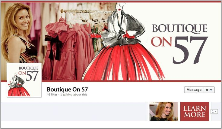 Boutique On 57 (Kasia Bosne) Facebook Cover - by TweetPages.com #TweetPages
