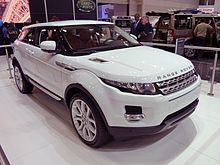 Range Rover Evoque ~ Made in Liverpool - Wikipedia, the free encyclopaedia
