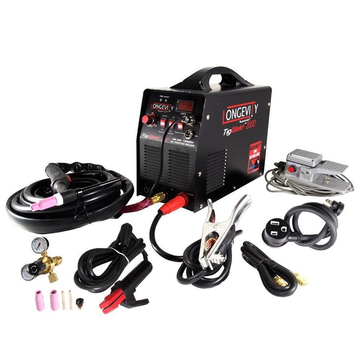 Longevity Tigweld 200D 200 Amp TIG Welder with Dual
