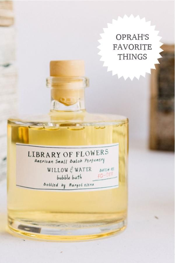 Library Of Flowers Willow Water Bubble Bath Bubbles Perfume Bottles The Balm