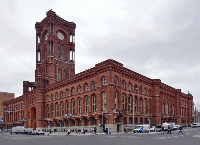 Germany Berlin Rotes Rathaus 1 In 2020 Berlin Germany City City Architecture Landmark Buildings
