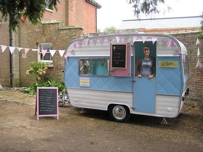 My friend & partner's awesome catering caravan! Norfolk, England
