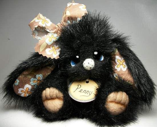 Penny by Little Bittie Bears: Couture Peluche, Teddy Bears, Handmade Teddy, Bitty Bears Awww, Adorable Bears, Fantasy Bears, Felting Needle Felt