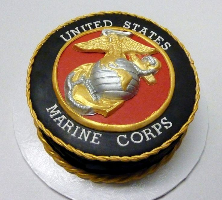 U.s. Marine Corps on Cake Central