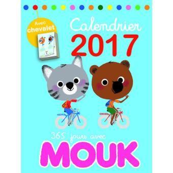 Mouk - Calendrier 2017 365 jours avec Mouk
