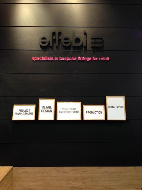 Effebi Shopfittings' Stand @Retail Design Expo