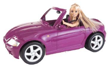Carro da Barbie. Confira também Jogos da Barbie (Online & Grátis) em: http://www.jogoson.com.br/jogos-da-barbie/