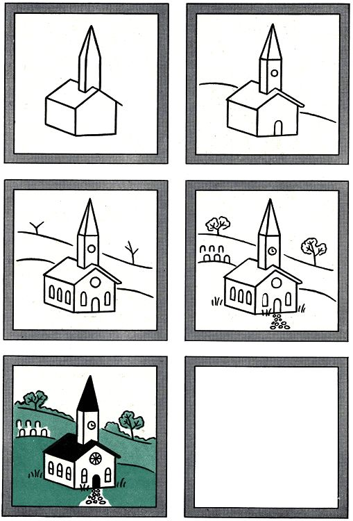 how to draw windows on a building