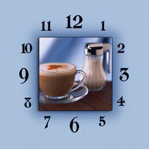 Схема вышивки «часы на кухню» - Вышивка крестом