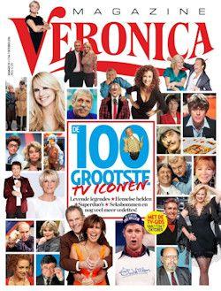 Proefabonnement: 40x Veronica Magazine € 25,-: Veronica Magazine heeft niet alleen elke week het superoverzichtelijke programmaoverzicht, maar ook onthullende interviews. Een zeer complete televisiegids dus! Actie: 40 weken voor 25. Het proefabonnement stopt automatisch!