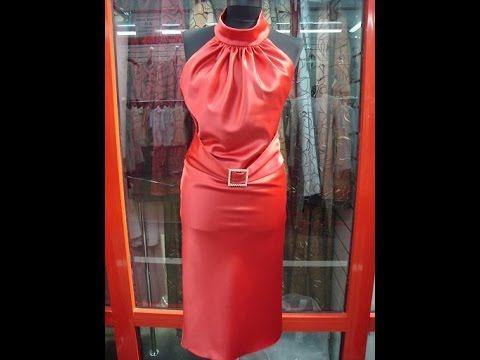 Платье с драпировкой от горловины. Моделирование.