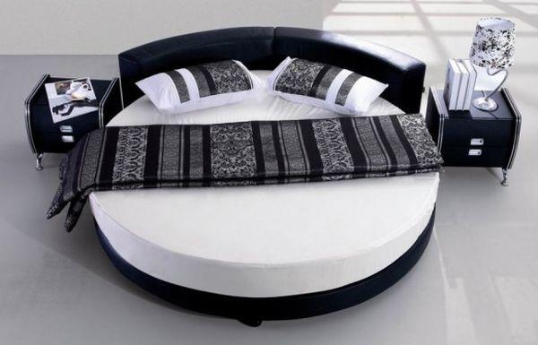 Camas redondas o camas circulares para su dormitorio | Tikinti
