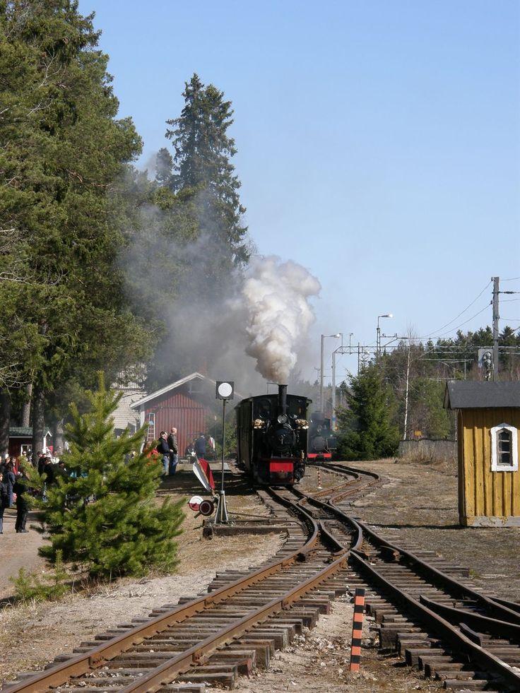 NYKARLEBY JERNVÄG. Ostrobothnia - province of Western Finland - Pohjanmaa - Österbotten