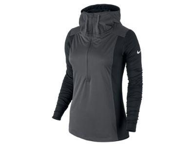Nike Pro Hyperwarm Shield Half-Zip Women's Training Hoodie $85