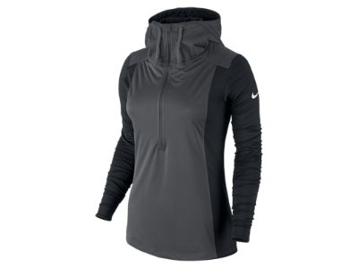 Nike Pro Hyperwarm Shield Half-Zip Women's Training Hoodie $85