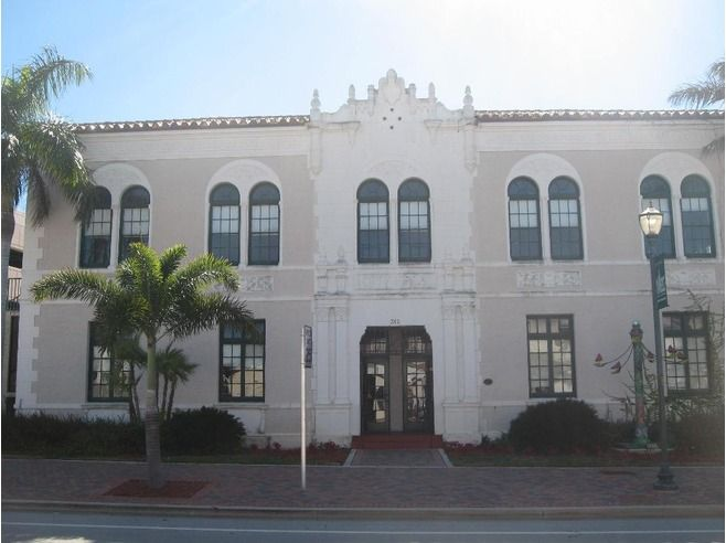 Old City Hall. Fort Pierce, FL